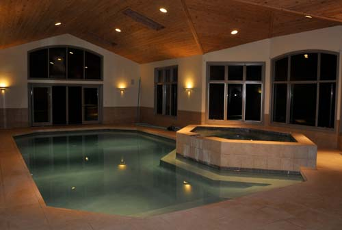 Indoor pool and hot tub  Polo University Grand Opening Summer 2011 | PoloZONE