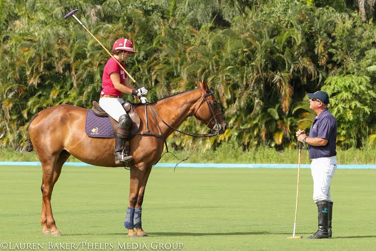 Harvard Captain Takes to the Field  at Palm City Polo Club