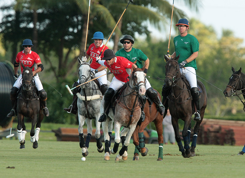 Audi's Marc Ganzi with the ball in 2014 Tackeria Invitational action.