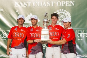 Audi-East Coast Open Champion-L to R-Miguel Astrada, Nic Roldan, Juancito Bollini and Marc Ganzi.