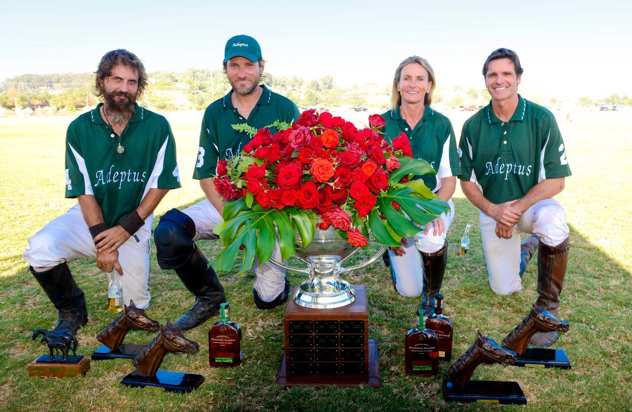 Adeptus/Sycamore Wins Spreckels Cup. Diego Cossio, Max Menini, Dr. Colleen Wilson and Bryon Ward.