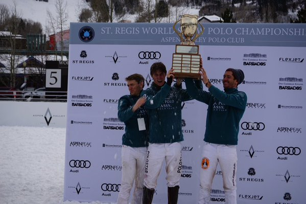 U.S. Polo Assn. wins Aspen World Snow Polo Championship