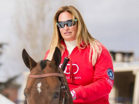 Melissa Ganzi is First Woman To Compete in St. Moritz Snow Polo World Cup 2016
