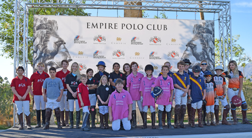 Polochella 2016 Junior Polo Tournament at Empire Polo Club