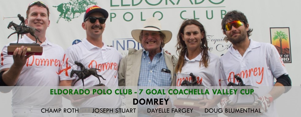 Domrey Dominates to Win Eldorado 7 Goal Coachella Valley Cup