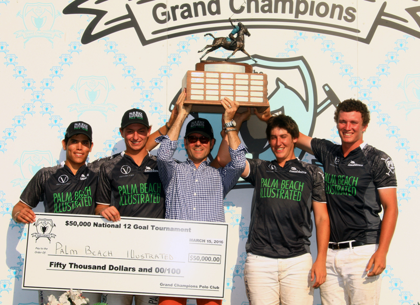 Palm Beach Illustrated/Team USPA take home the money in the $50,000 National 12-goal