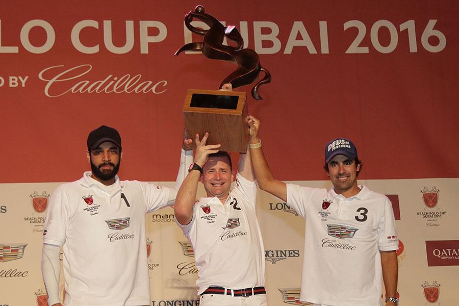 Team Cadillac Retains Title of the Beach Polo Cup in Dubai