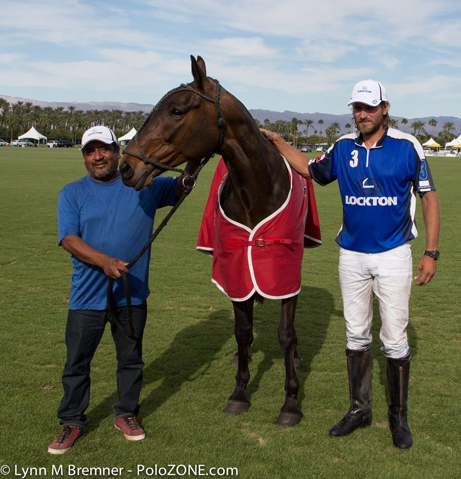 """Max Menini's mare """" Tita"""" won Best Playing Pony in the USPA 6-8 Goal Champions Cup."""