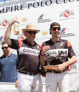 Conrad Kissling won MVP of the USPA 4-Goal Lions Cup.