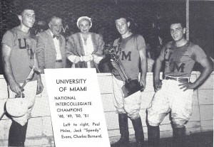 University of Miami polo team- 4 time national champions 001