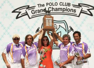 The 2015 Memorial Cup winner-Travieso (L to R)-Marc Ganzi, Piki Alberdi, Teo Calle and Hector Guerrero). (Photo by Alex Pacheco)