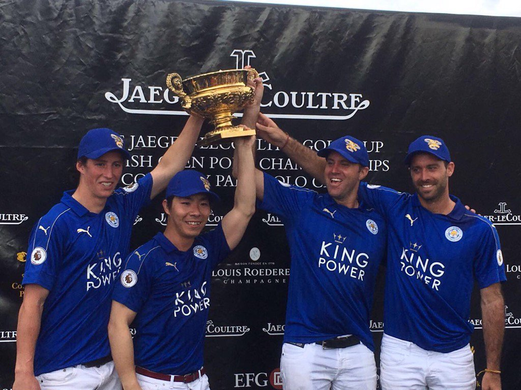 King Power Foxes-L to R-Hugo Lewis, Tal, Gonzalito Pieres and Facundo Pieres