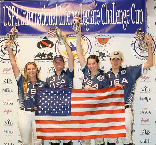 TEAM USA WINS INTERNATIONAL INTERCOLLEGIATE CHALLENGE CUP