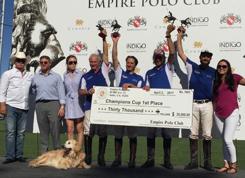 STG Wins 8-Goal Champions Cup and Empire Polo Wins 4-Goal Lions Cup Finals